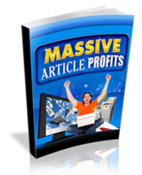 Pay for Massive Article Profits - Videos and eBook plr