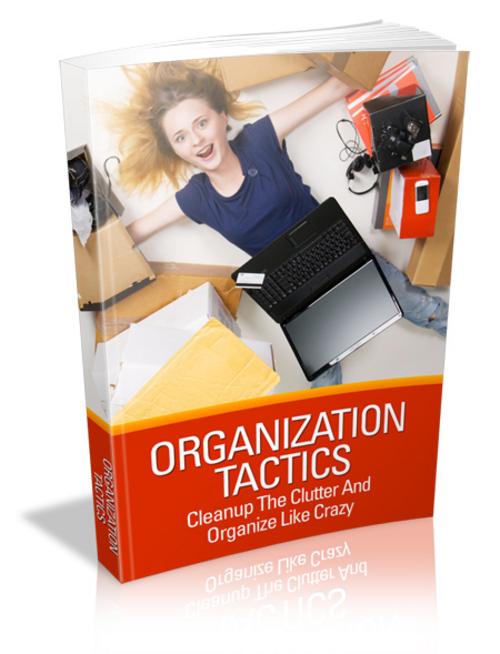 Pay for Organization Tactics plr