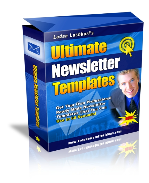 Pay for Ultimate Newsletter Templates (PLR)