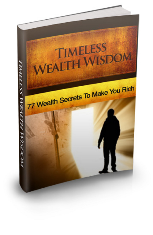 Pay for Timeless Wealth Wisdom plr