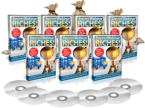 Pay for Secret Webinar Riches - Video Series  plr