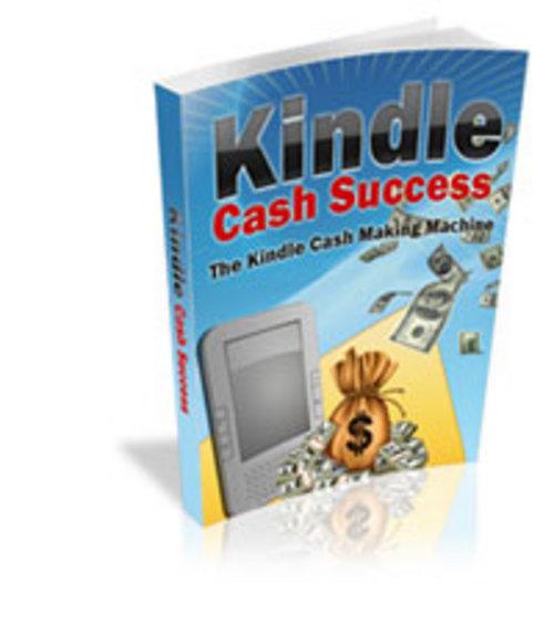 Pay for Kindle Cash Success plr
