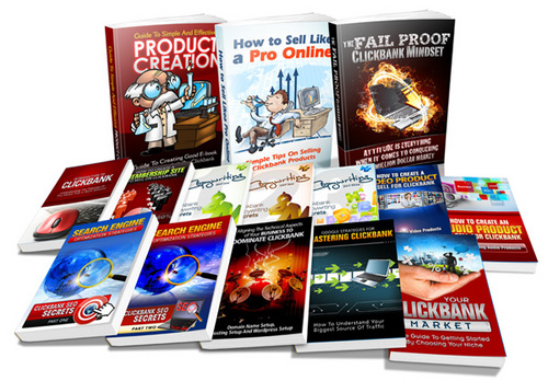 Pay for Clickbank Crash Course - Volumes 1-15 plr