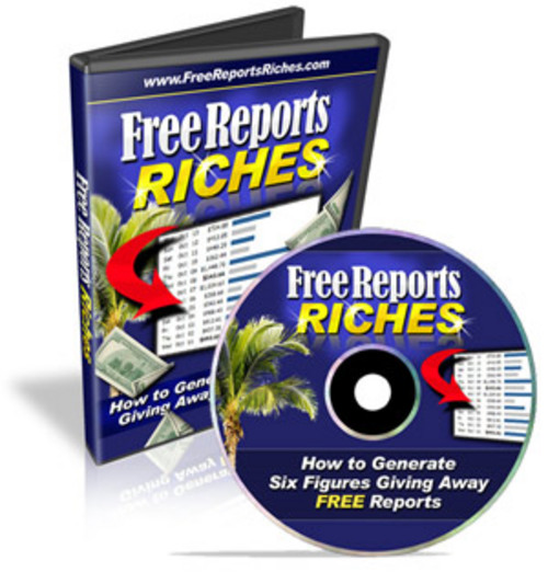 Pay for Free Reports Riches - eBooks and Videos plr