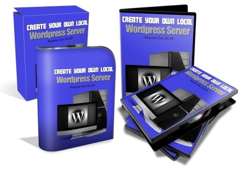 Pay for Create Your Own Local Server With Wordpress (PLR)