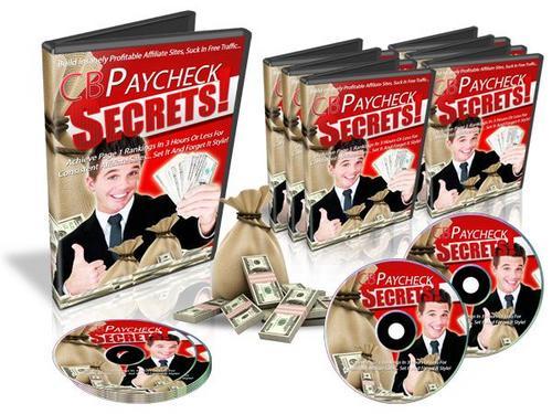 Pay for CB (Clickbank) Paycheck Secrets V2 - Video Series plr
