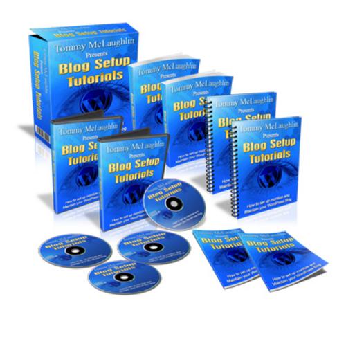 Pay for Blog Setup - Video Series plr
