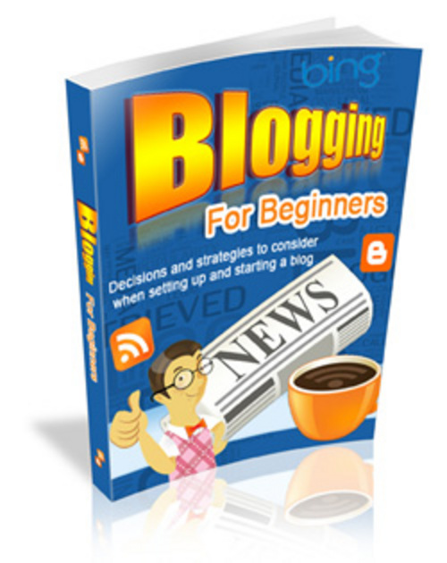 Pay for Blogging for Beginners - Viral eBook plr