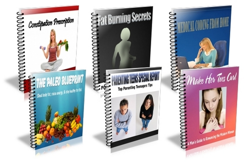 Pay for Niche Reports 6 Pack (PLR)