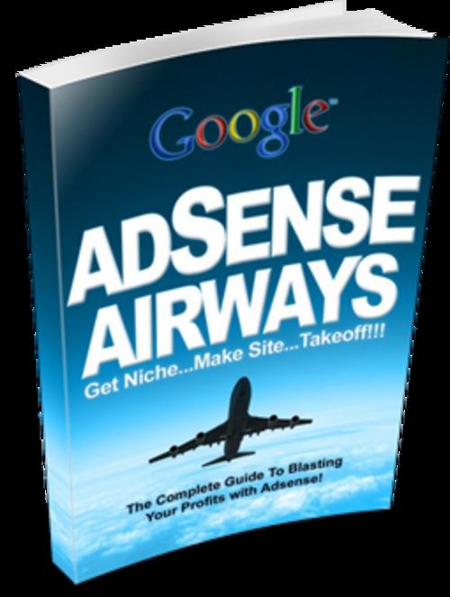 Pay for Google AdSense Airways (PLR)