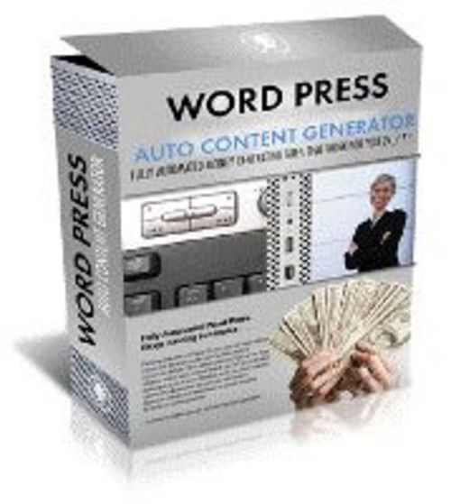 Pay for Wordpress - Auto Content Generator plr