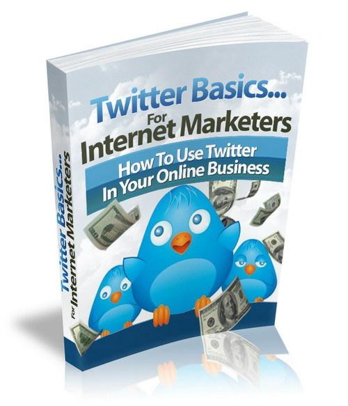 Pay for Twitter Basics for Internet Marketers plr