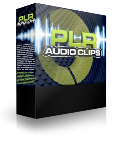 Pay for PLR Audio Clips 2 (PLR)