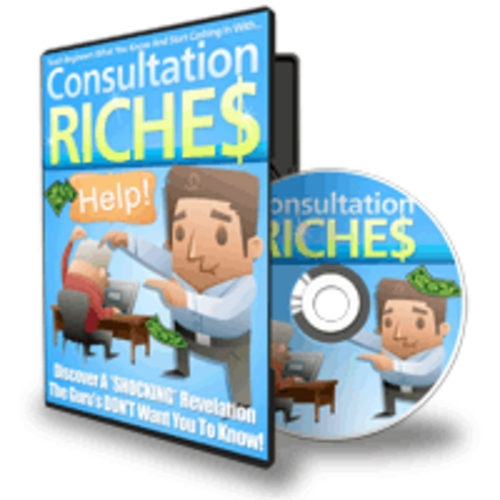 Pay for Consultation Riches - Video Series plr