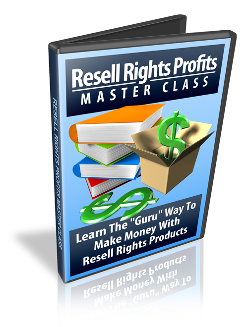 Pay for Resell Rights Profits - Master Class - Video Series plr