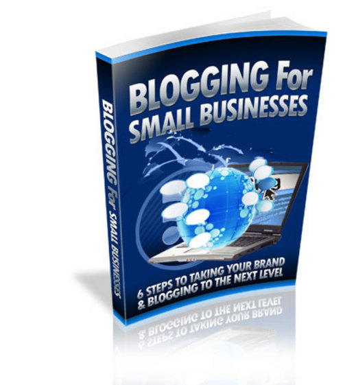 Pay for Blogging for Small Business - eBooks and Audios plr