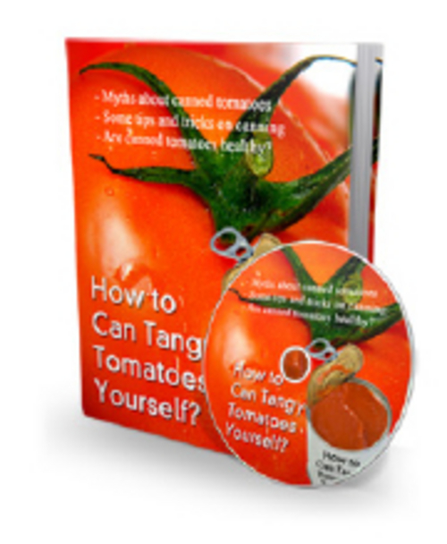 Pay for How to Can Tangy Tomatoes Yourself - eBook and Audio plr