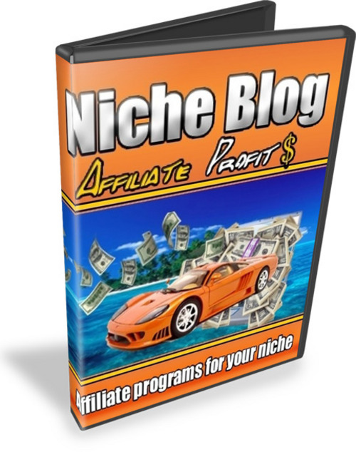 Pay for Niche Blog Affiliate Profits - eBooks and Videos plr