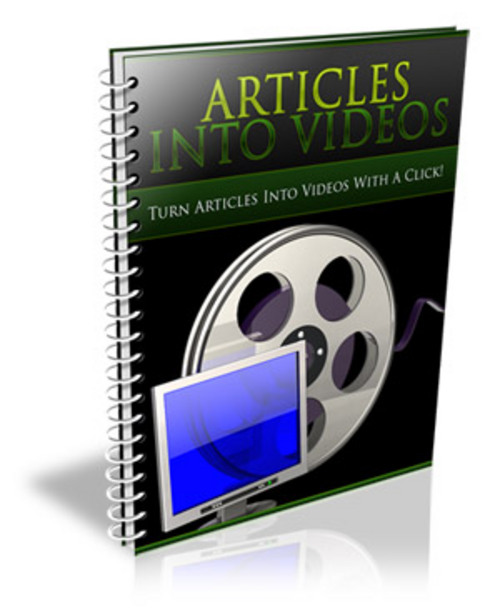 Pay for Articles Into Video (PLR)
