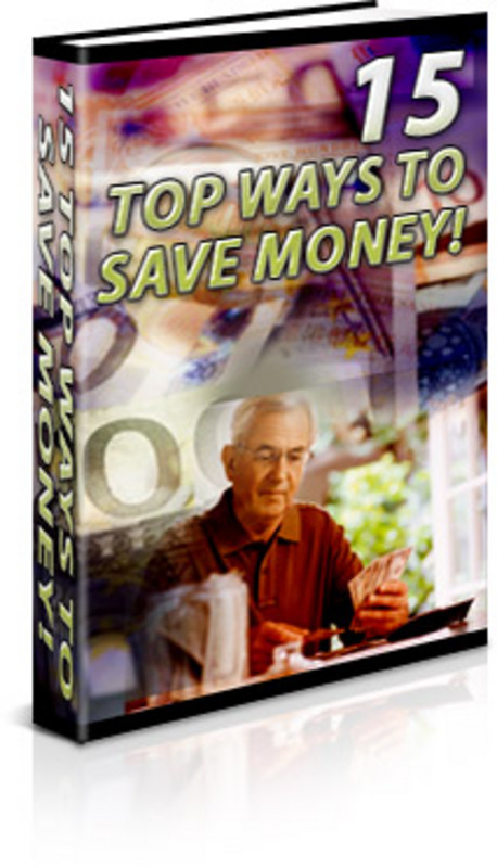 Pay for 15 Top Ways to Save Money (PLR)