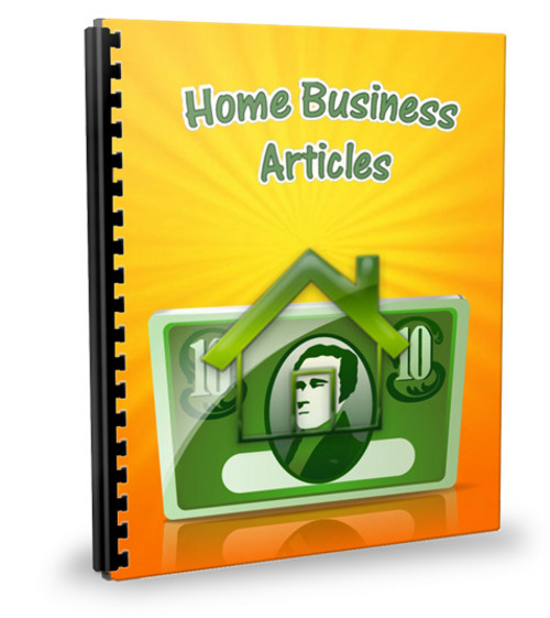 Pay for 25 Home Business Articles - Feb 2012 (PLR)