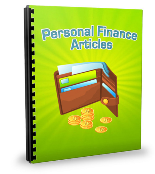 Pay for 25 Personal Finance Articles - Jan 2012 (PLR)