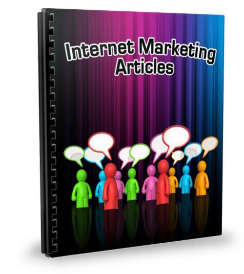 Pay for 25 Internet Marketing Articles - Jul 2011 (PLR)