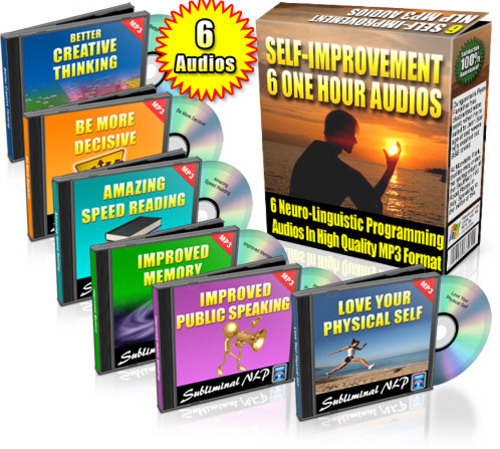 Pay for Self Improvement Audio Pack plr