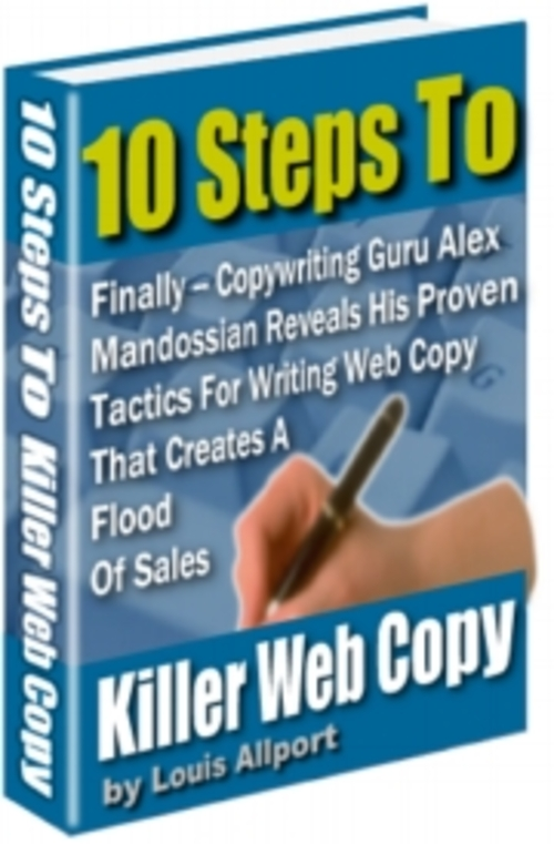 Pay for 10 Steps to Killer Web Copy