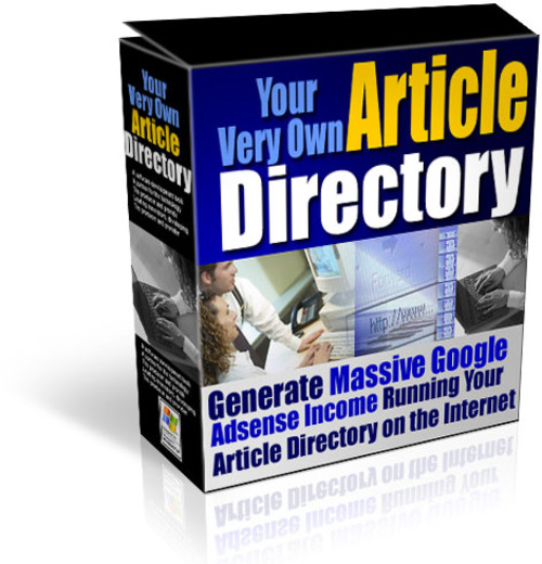 Pay for Your Own Article Site Directory