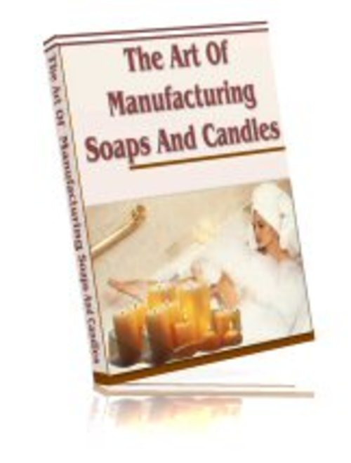 Pay for Making Soaps & Candles (PLR)