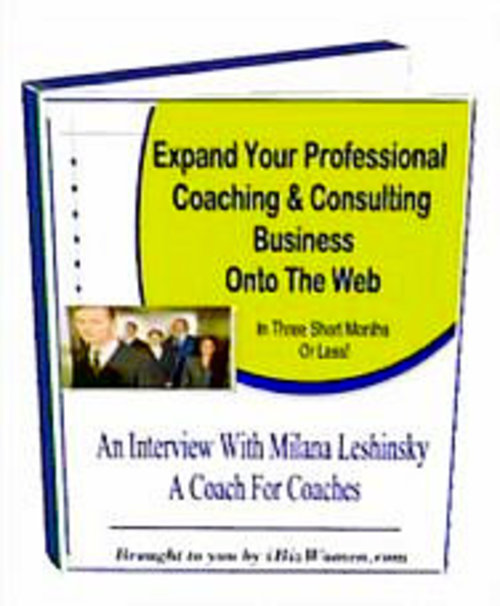 Pay for Professional Coaching Business