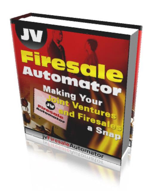 Pay for JV Firesale Automator (PLR)
