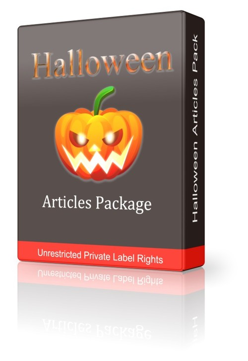 Pay for Halloween Articles Package (PLR)