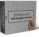 Pay for Whiteboard SVG Graphics Bundle