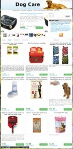 Pay for Amazon Dog Store