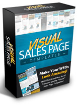Pay for Visual Sales Page Templates
