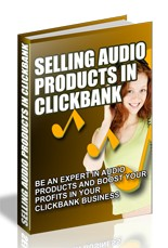 Pay for Selling Audio Products in ClickBank