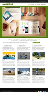 Pay for Omaterra Premium WordPress Theme