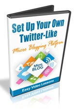Pay for Set Up a Twitter Like Micro Blog