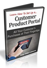 Pay for Customer Product Portals