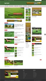 Pay for Lawn Service Niche Blog