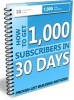 Thumbnail 1000 Subscribers in 30 Days