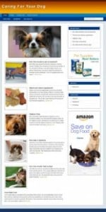 Pay for Dog Care Niche Blog