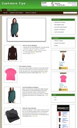 Pay for Cashmere Niche Blog
