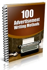 Pay for 100 Advertisement Writing Methods