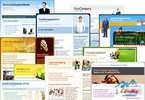 Thumbnail 155 best Adobe DreamWeaver CS4 Templates