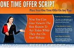 Thumbnail One time offer script