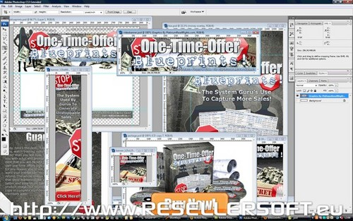 Pay for PSD One Time Offer Blueprints Graphics