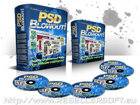 Pay for PSD BlowOut - the ultimate package